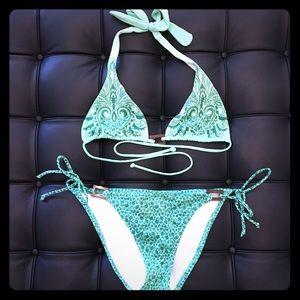 Victoria's Secret Halter Top/ String Bikini Bottom